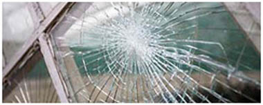 Pontefract Smashed Glass